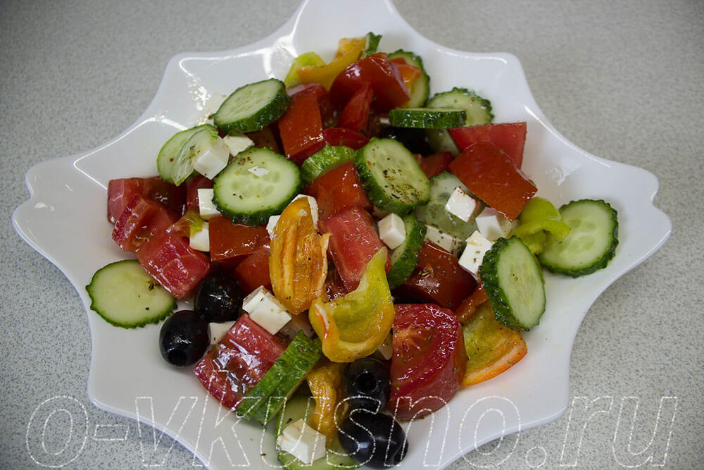 пошаговые фото рецепты овощных салатов