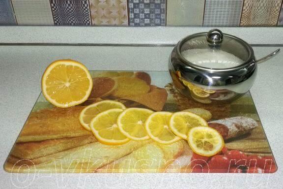 Режем лимон