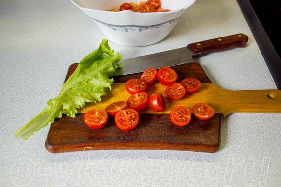 Режем помидорки