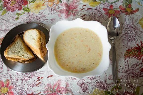 холодные супы пюре рецепты с фото