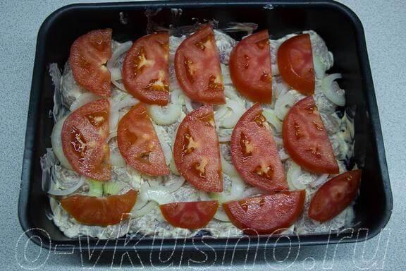 Потом помидоры