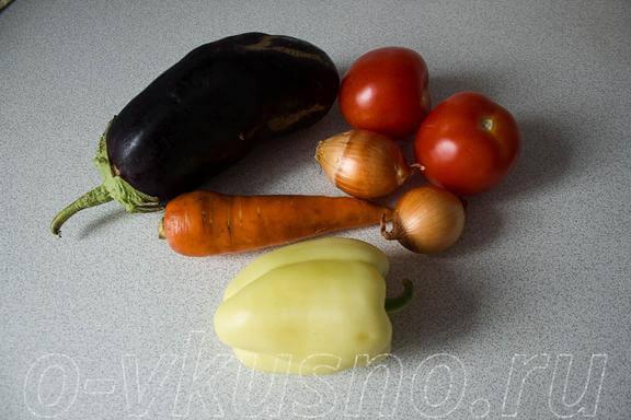 Ингредиенты для соте