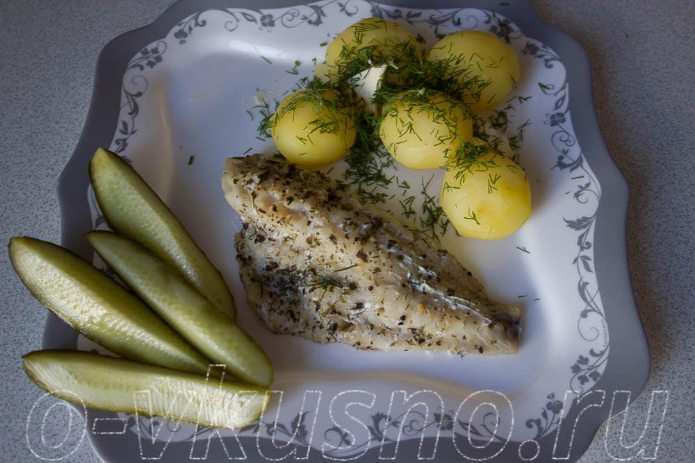 Рыба на пару без пароварки рецепт с пошагово
